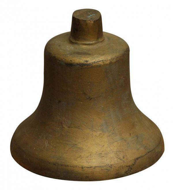 Vintage Gold Painted Bell