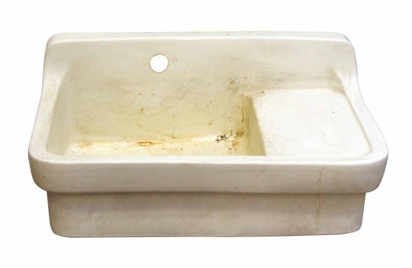Large White American Standard Sink