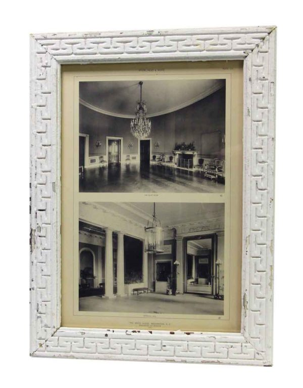 Framed Photo of the Interior of The White House