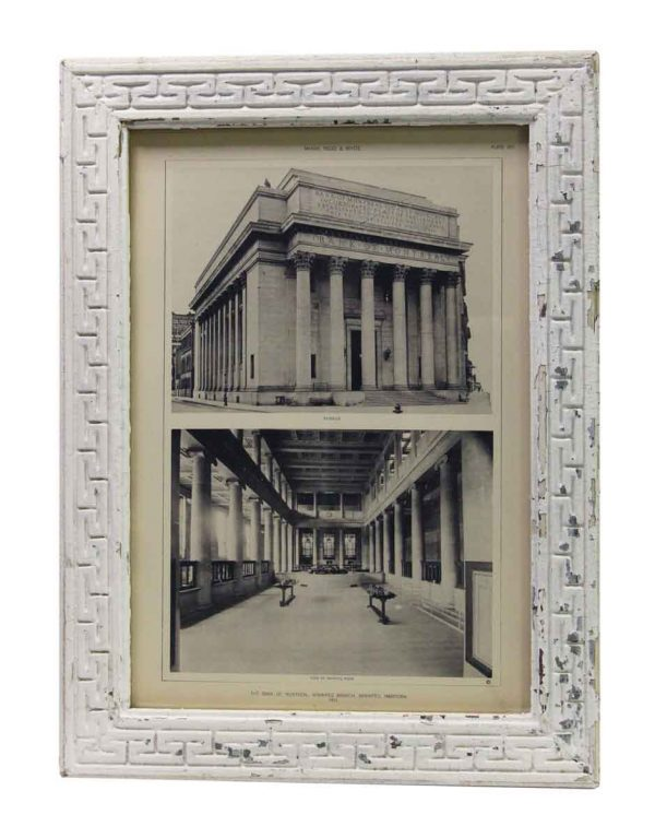 Framed Photo of The Bank of Montreal