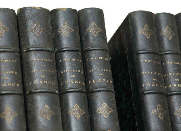 Set of 18 History of France Books - Collectibles