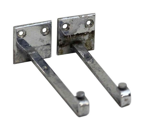 Pair of Brackets for Glass Shelves - Shelf & Sign Brackets