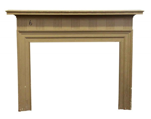 Pine Federal Style Mantel - Mantels