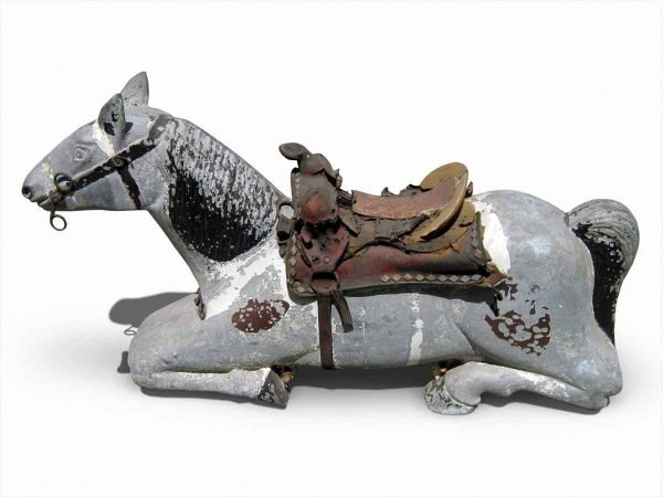 Vintage Metal Horse - Statues & Fountains