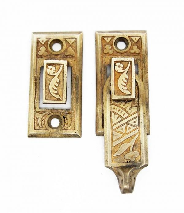 Bronze Aesthetic Shutter Latch - Window Hardware
