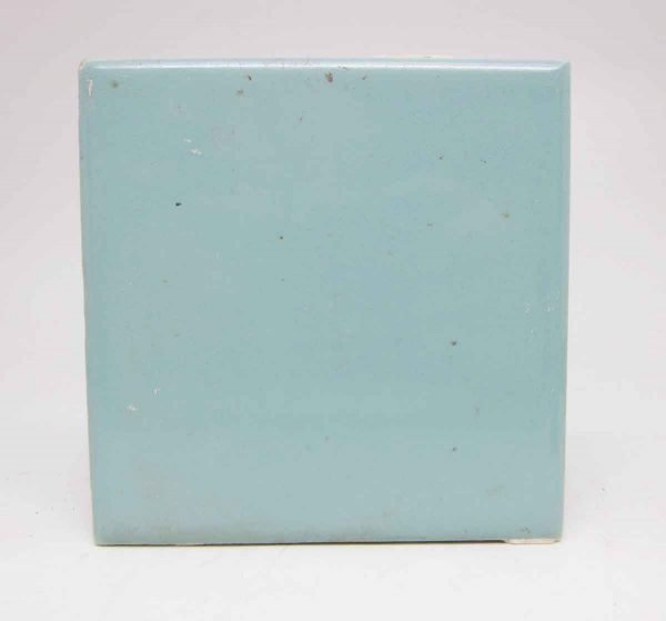 Set of Five Sky Blue Square Tiles - Wall Tiles