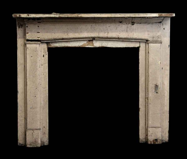 Slight Gothic Arch Wooden Mantel - Mantels