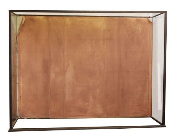 Large Brass & Glass Showcase - Commercial Furniture