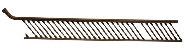 Solid Wood Turned Spindle Stair Railing - Staircase Elements