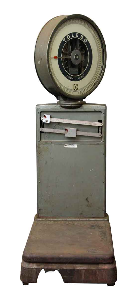 Large Industrial Toledo Scale - Scales