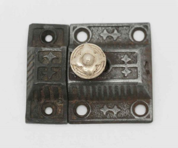 Decorative Cast Iron Latch - Cabinet & Furniture Latches
