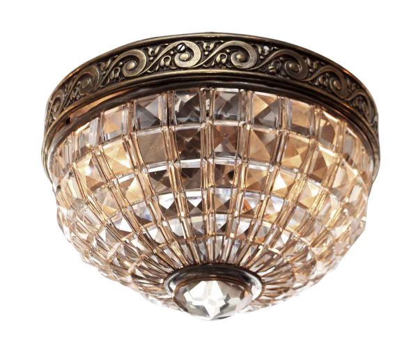 Crystal Basket Flush Mount Light - Flush & Semi Flush Mounts