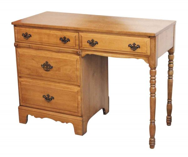 1930s Blonde Stained Desk - Office Furniture