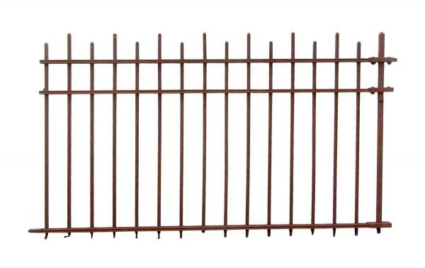 100 ft. Arts & Crafts Wrought Iron Fence - Fencing