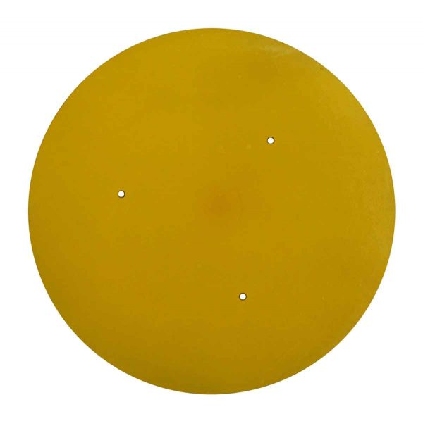 Yellow Plastic Round Table Top - Table Tops