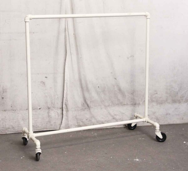 White Clothing Rack - Commercial Furniture