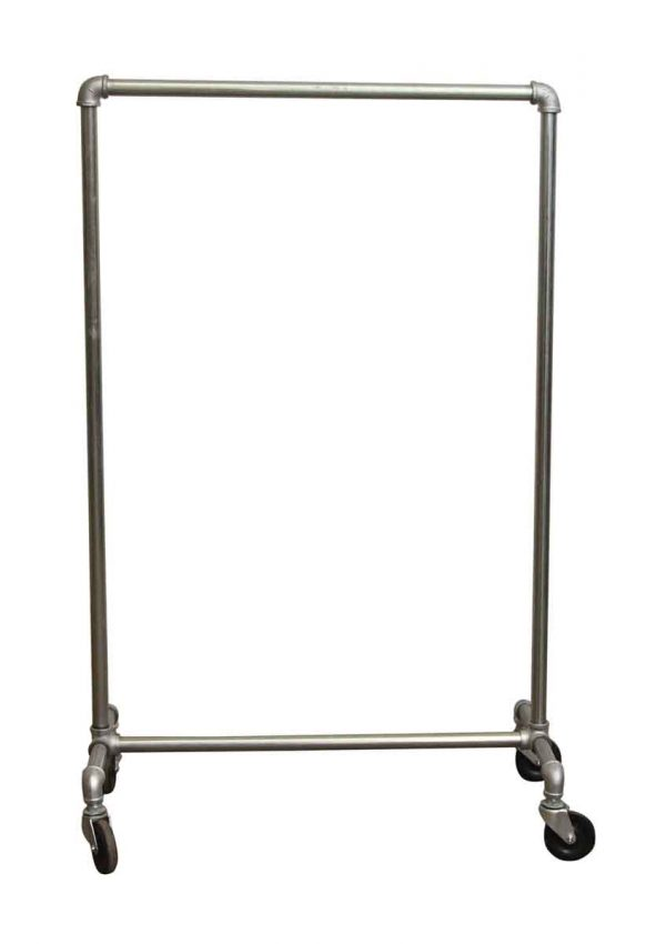 Brushed Steel Clothing Rack - Commercial Furniture