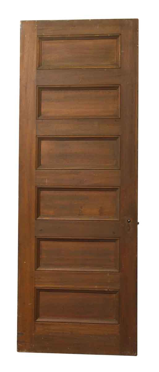 Wooden Six Horizontal Panel Door - Standard Doors