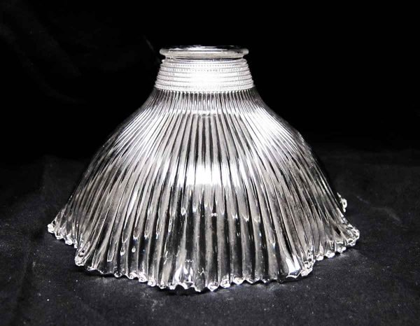 Original 6 in. Antique Holophane Replacement Glass Shade - Globes & Shades