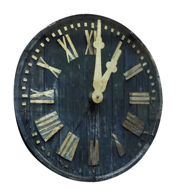 Wood Church Tower Clock - Interior Materials