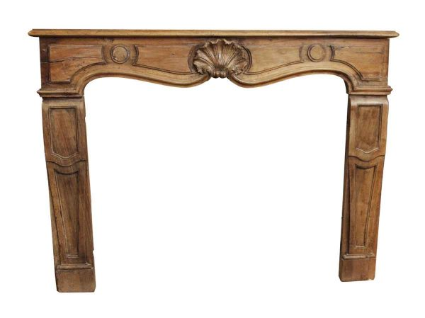 Reclaimed French Wood Mantel - Mantels