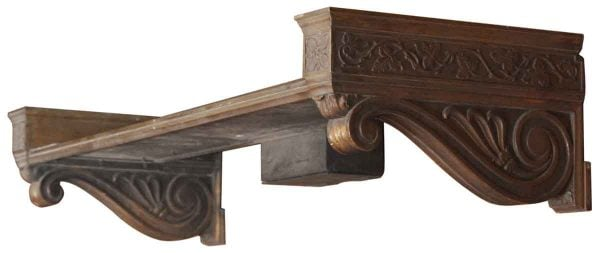 Bronze Bank Shelf - Shelves & Racks