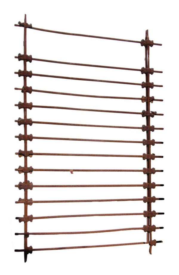 Turn of the Century Wrought Iron Fence or Window Guards - Fencing
