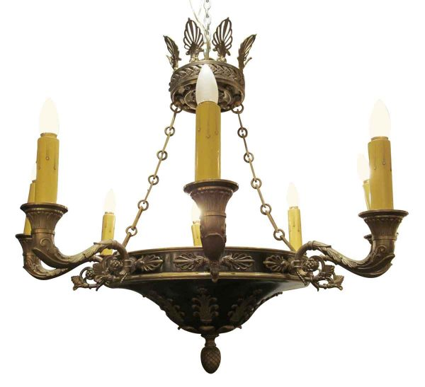 Empire style eight arm chandelier - Chandeliers
