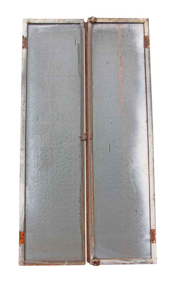 Double Chicken Wire Doors with Cast Iron Frames from the Helmle