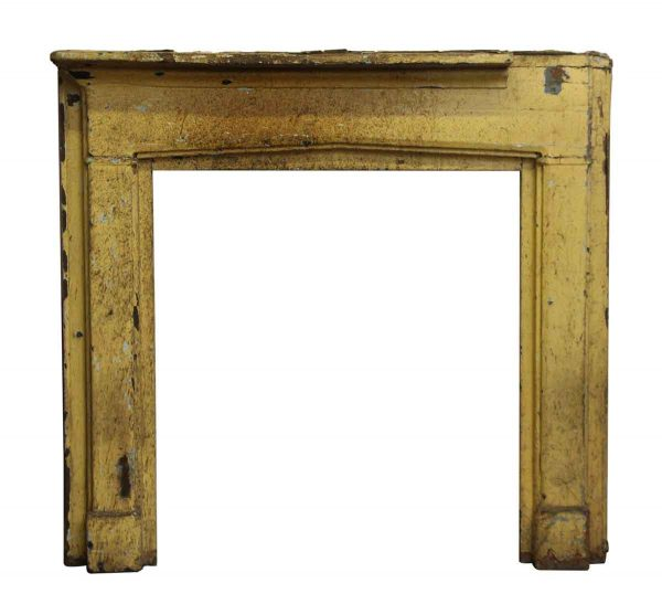 Classic Painted Wood Mantel - Mantels