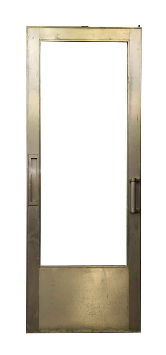 Metal Glass Door with Vertical Mail Slot - Entry Doors