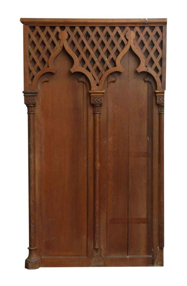 Gothic Wooden Wall Panel - Paneled Rooms & Wainscoting