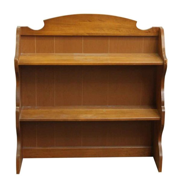 Country Style Wood Console - Shelves & Racks