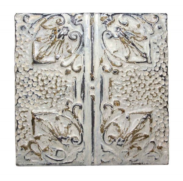 Four Fold Decorative Tin Panel - Tin Panels