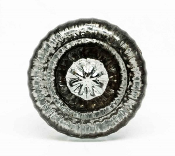 Single Glass Knob with Star Bullet - Door Knobs
