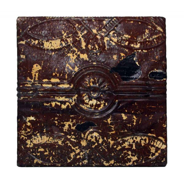 Brown Decorative Tin Panel - Tin Panels