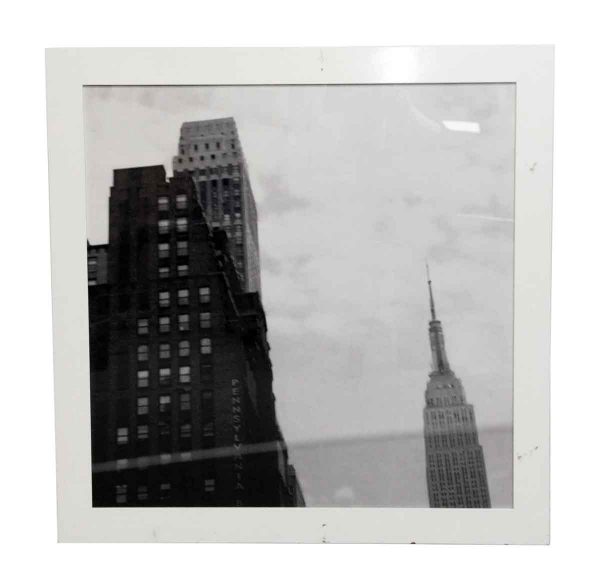 Black & White PA City View Framed Photograph - Photographs