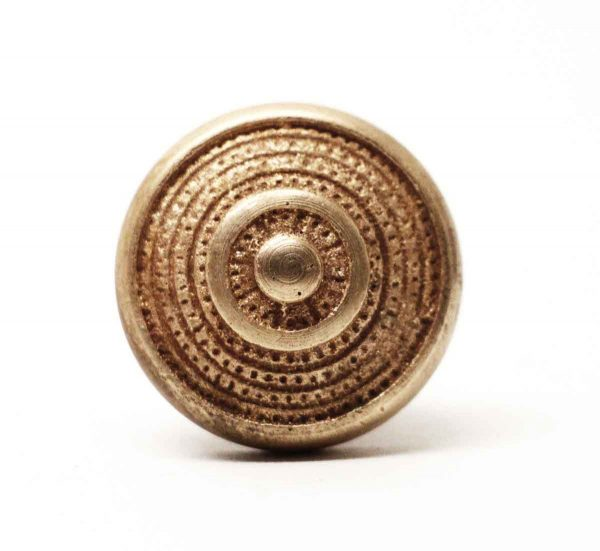 Set of 14 Small Polished Brass Cabinet Knobs - Cabinet & Furniture Knobs
