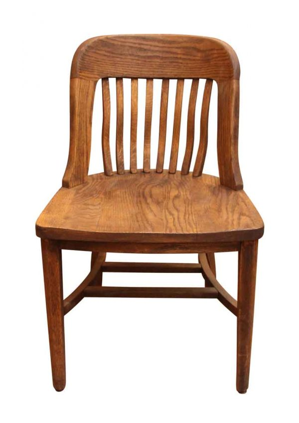 Set of Five Oak Chairs - Seating
