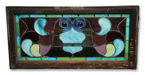 Colorful Stained Glass with Jewels - Stained Glass