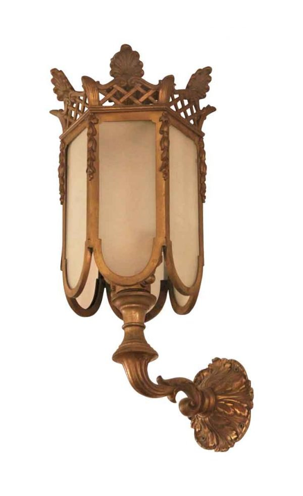 Spectacular Pair of Bronze Sconces - Sconces & Wall Lighting