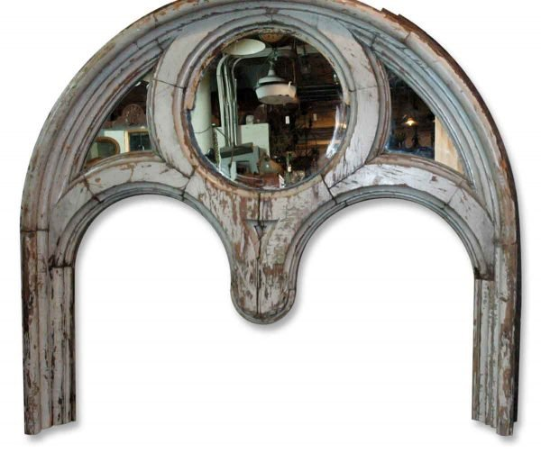Huge Gothic Architectural Headboard - Altered Antiques