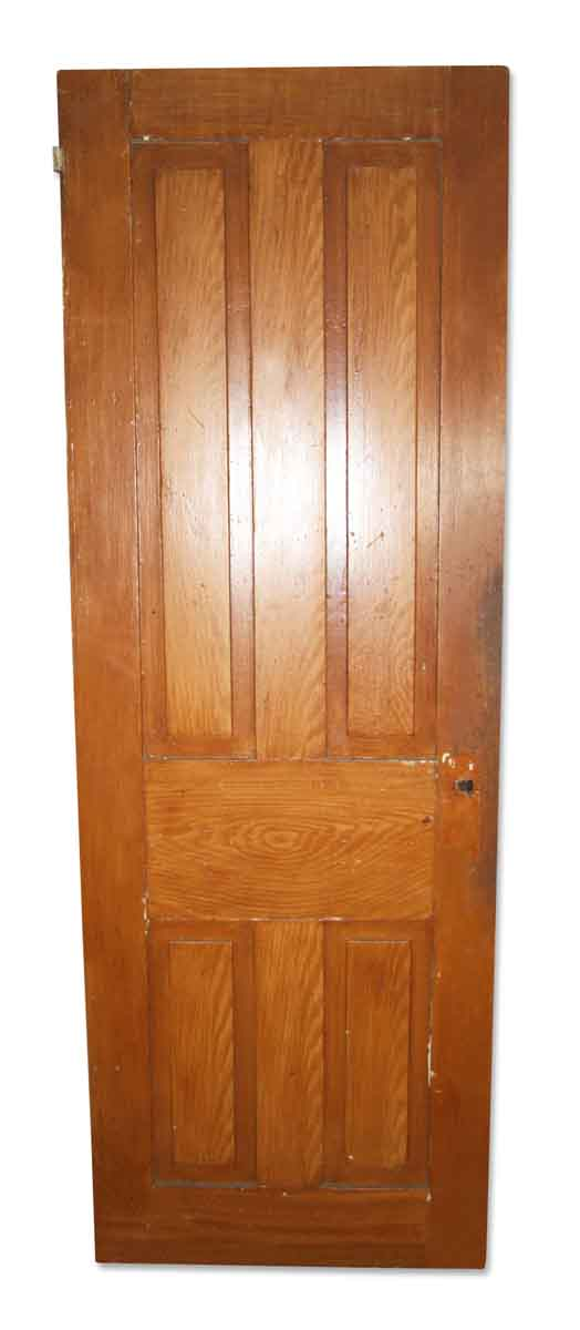 Antique Original Four Vertical Panel Door - Standard Doors
