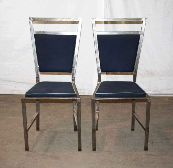 Vintage Navy Chairs - Kitchen & Dining