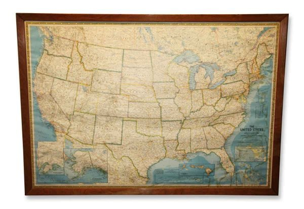 United States Map - Globes & Maps