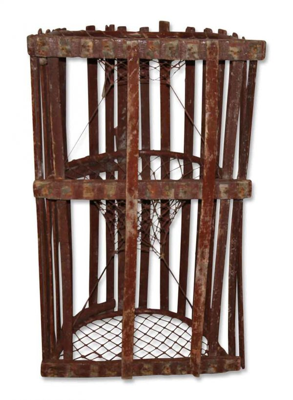 Vintage Lobster or Crab Cage - Nautical Antiques