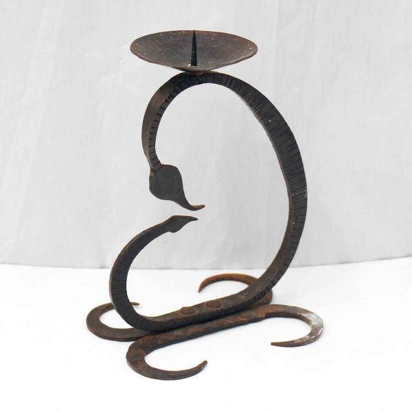 Wrought Iron Single Candle Holder - Candle Holders