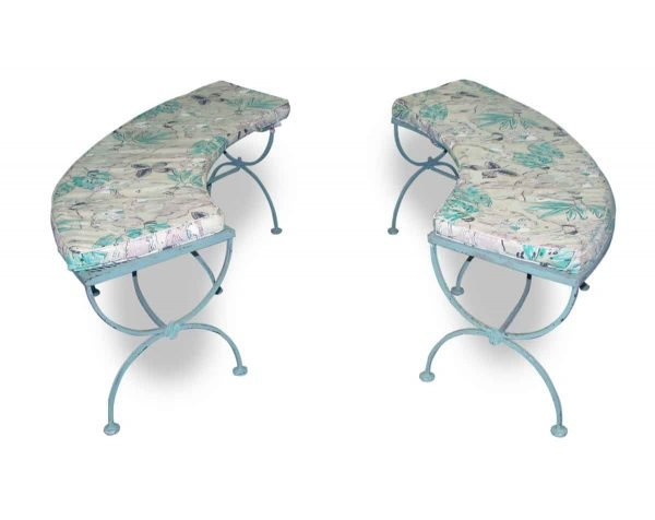 Curved Garden Benches - Patio Furniture