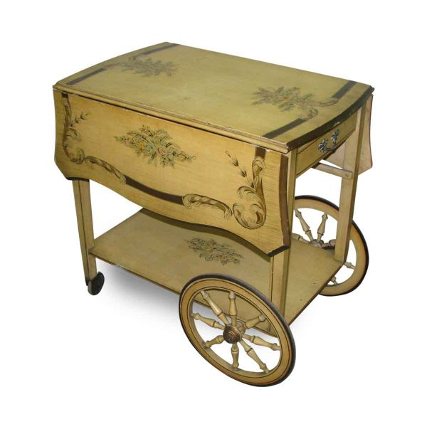French Provincial Flower Cart - Carts