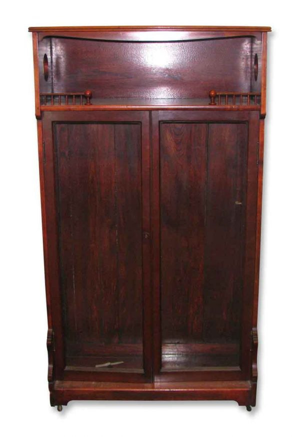 Cabinet on Wheels & Two Doors - Cabinets